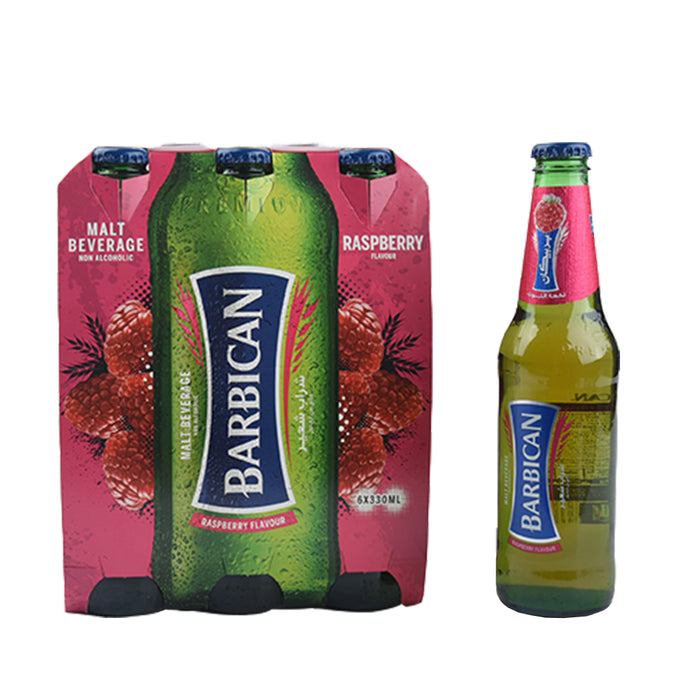 Barbican Malt Beverage Raspberry 6X330ml