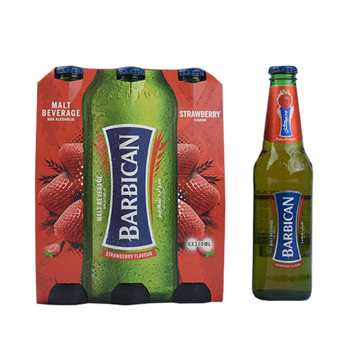 Barbican Malt Beverage Strawberry 6X330ml