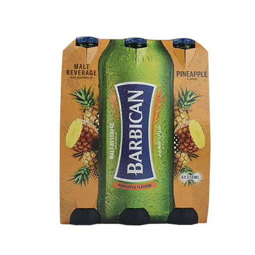 Barbican Malt Beverage Pineapple 6X330ml