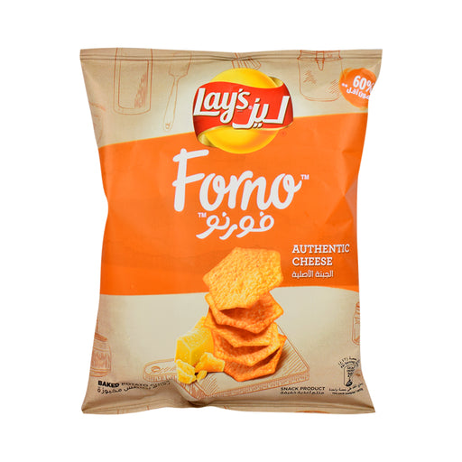 Lay'S Forno Authentic Cheese Potato Chips 43Grm