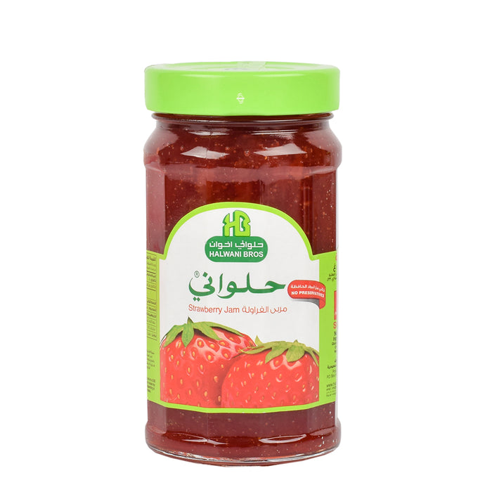 Halwani Strawberry Jam 400gm