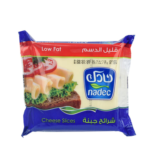 Nadec Cheese Slices Low Fat 200gm