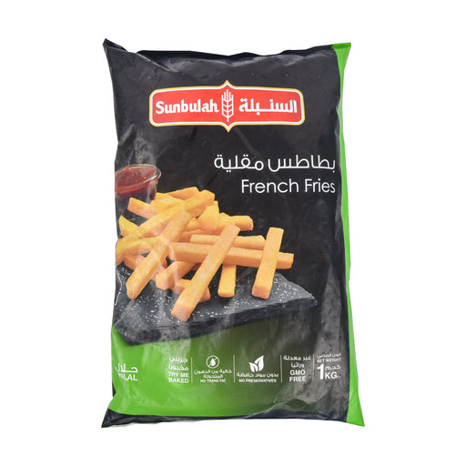 Sunbulla Frozen French Fries 1Kg