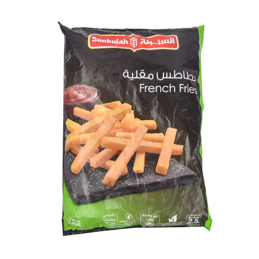 Sunbulla Frozen French Fries 2.5Kg