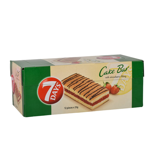 7 Days Cake Bar With Strawberry Filling 25Grm