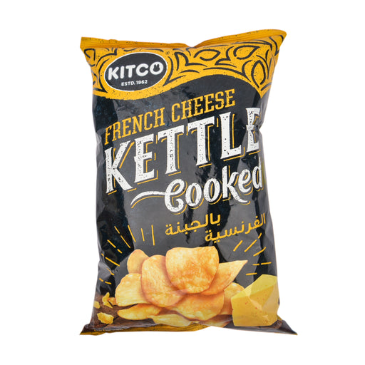 Kitco Kettle Cooked Chips French Chese 170Grm