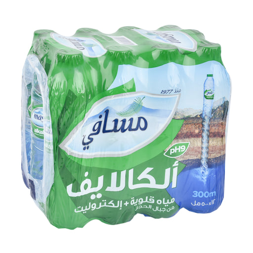 Masafi Mineral Water Alkalife PET 500ml
