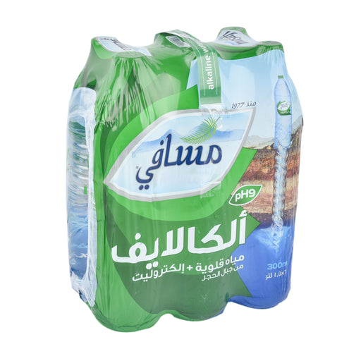 Masafi Mineral Water Alkalife PET 1.5Ltr
