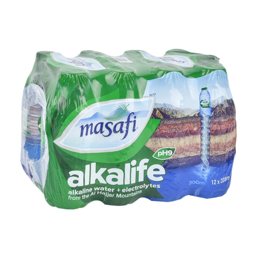 Masafi Mineral Water Alkalife PET 330ml