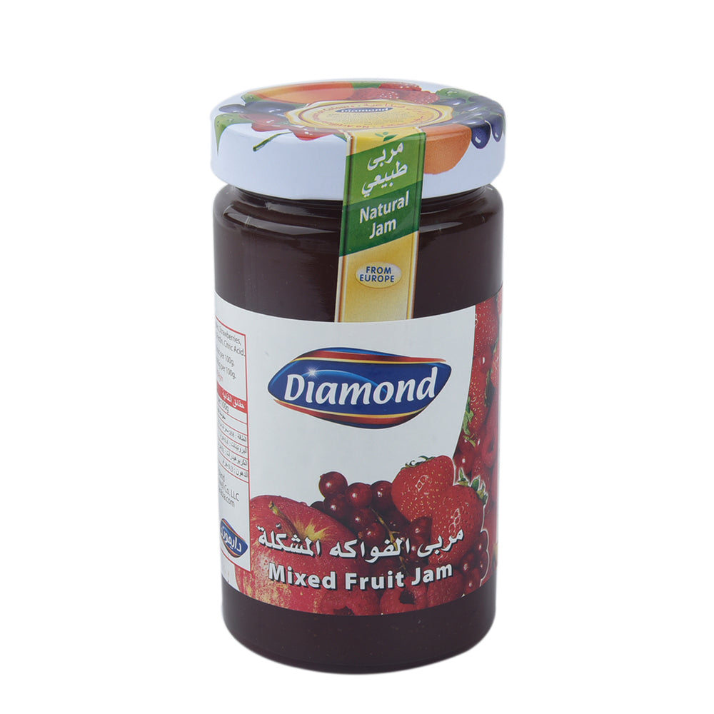 Diamond Mixed Fruit Jam 454gm
