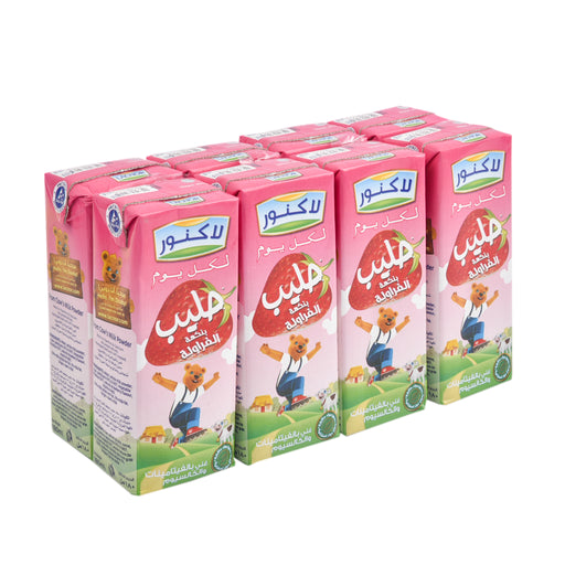 Lacnor Strawberry Milk 180ml