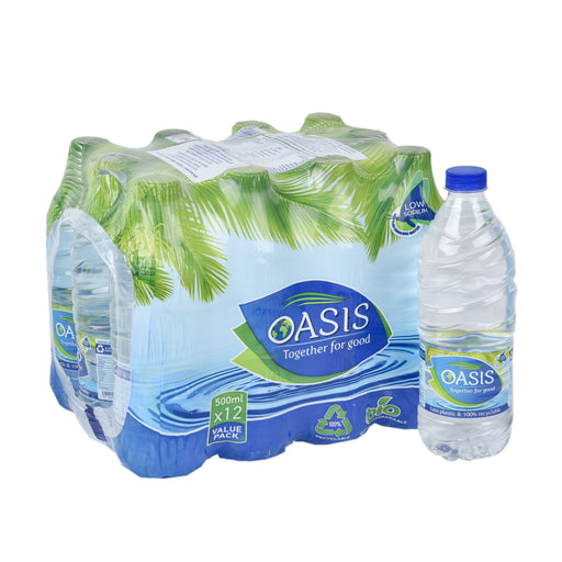 Oasis Mineral Water PET 500ml