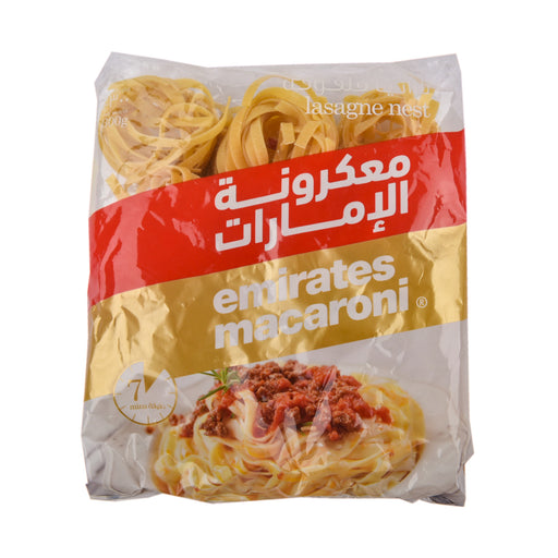 Emirates Macaroni Lasagne Nest 300gm
