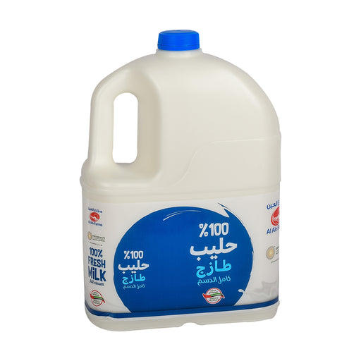 Al Ain Fresh Milk Full Cream 4Ltr