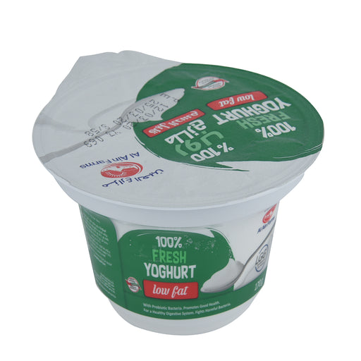 Al Ain Fresh Low Fat Yoghurt 170gm