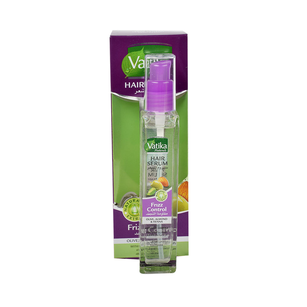 Dabur Vatika Hair Serum Friz Control 47Ml