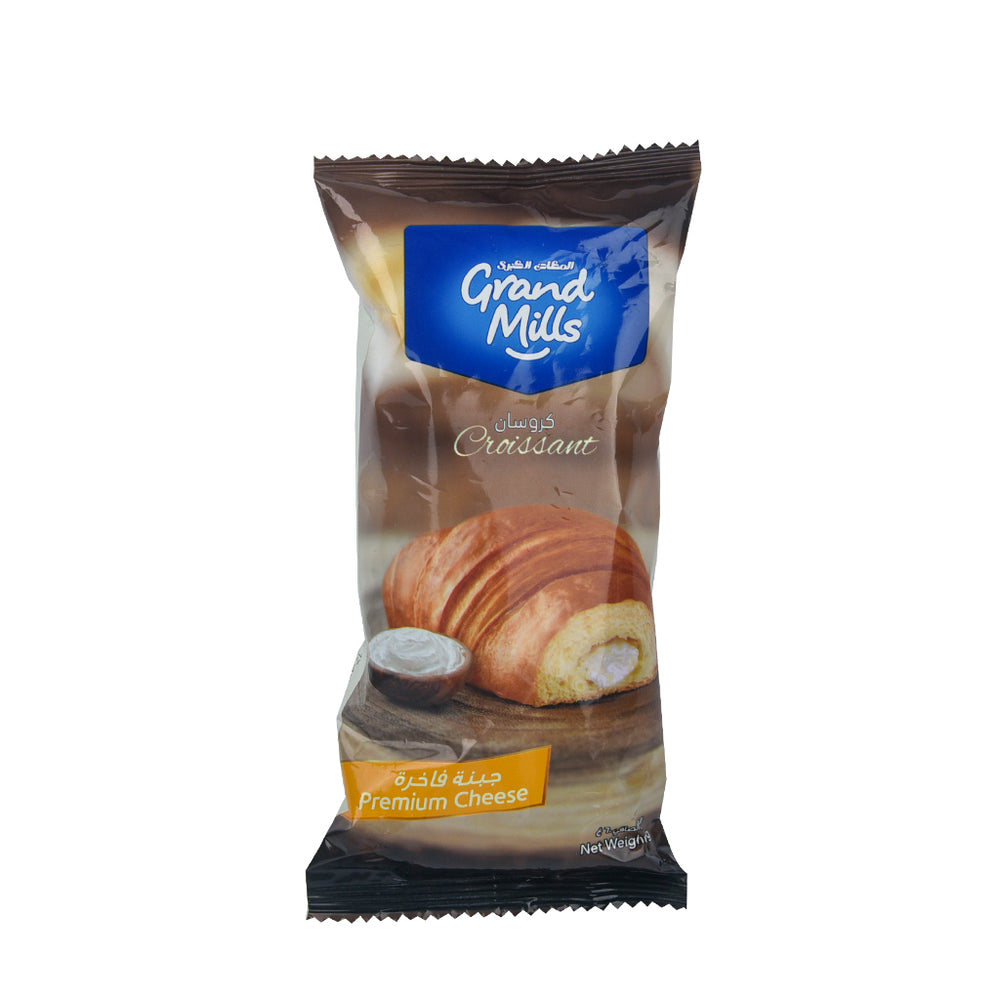 Grand Mills The Grand Baker Croissant Premium Cheese 60Grm