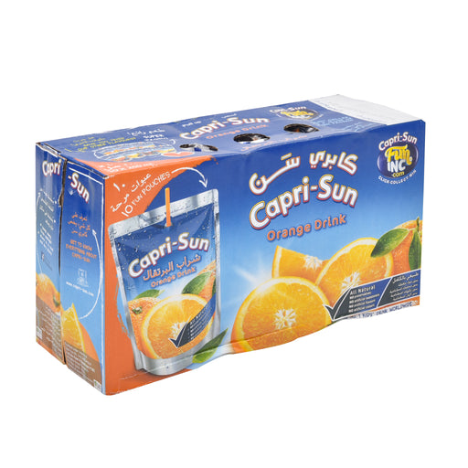 Caprisun Orange Juice 200 Ml X 10 Pieces