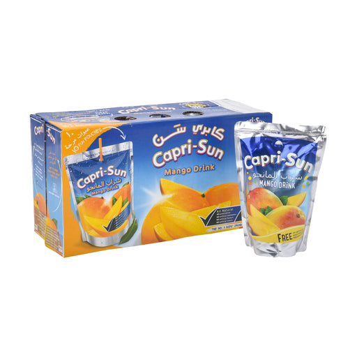 Caprisun Mango Juice 200 Ml X 10 Pieces
