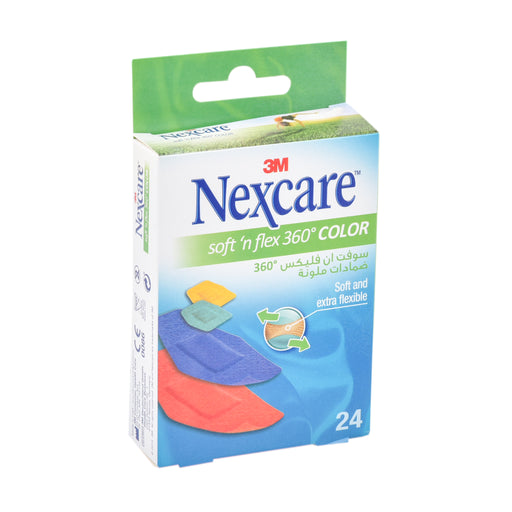 3M Nexcare Color Soft''N Bandages 24''S