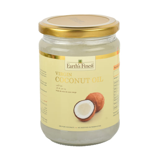 Earth`s Finest Virgin Coconut Oil 500ml