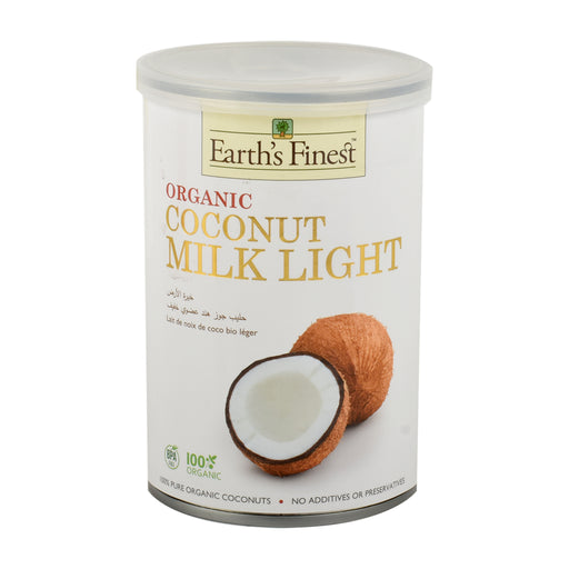 Earth's Finest Organc Coconut Milk Light 400ml