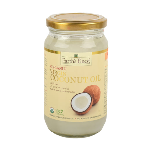 Earth's Finest Organic Virgin Coconut Oil 320ml
