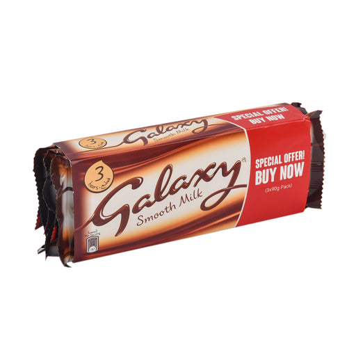 Galaxy Chocolate Milk Special Price 3x90g