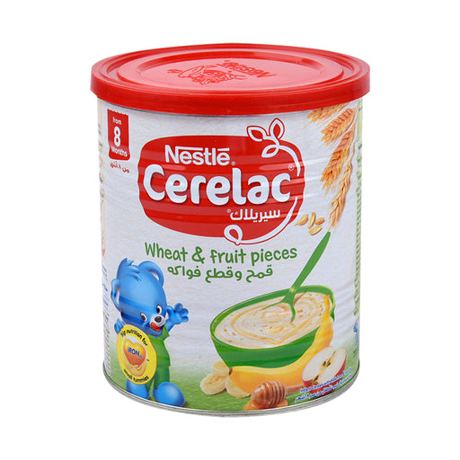 Nestle Cerelac Wheat & Fruit Pieces 400Grm