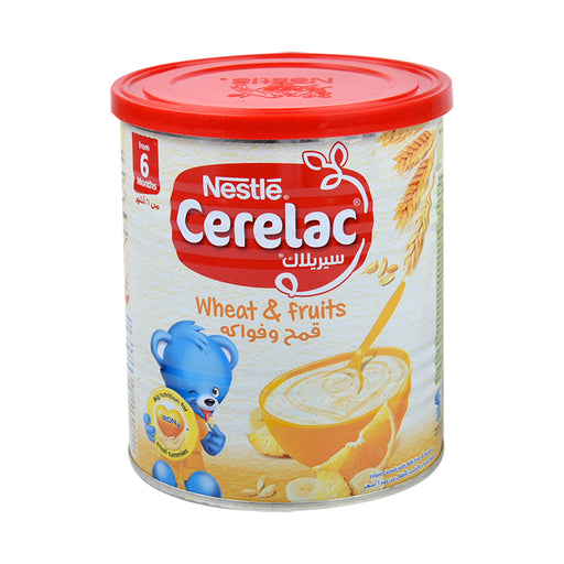Nestle Cerelac Wheat & Fruits 400Gm