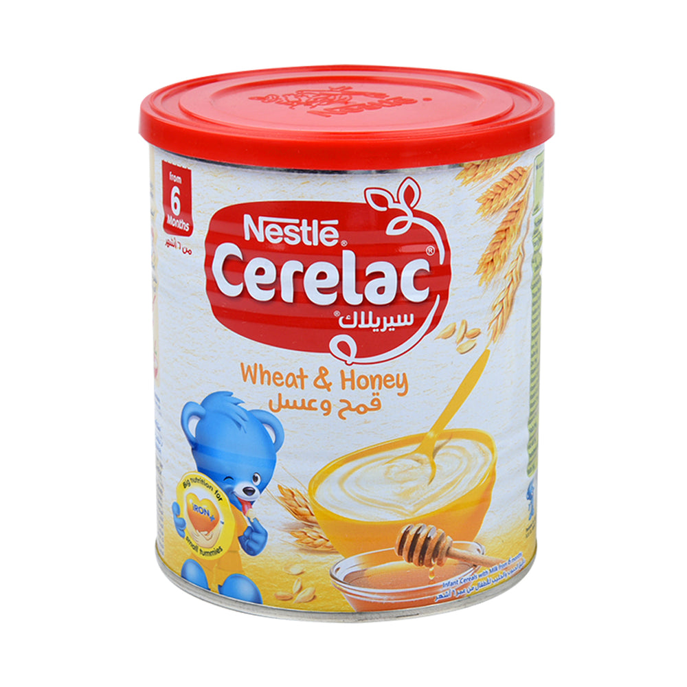 Nestle Cerelac Wheat & Honey With Milk 400Grm