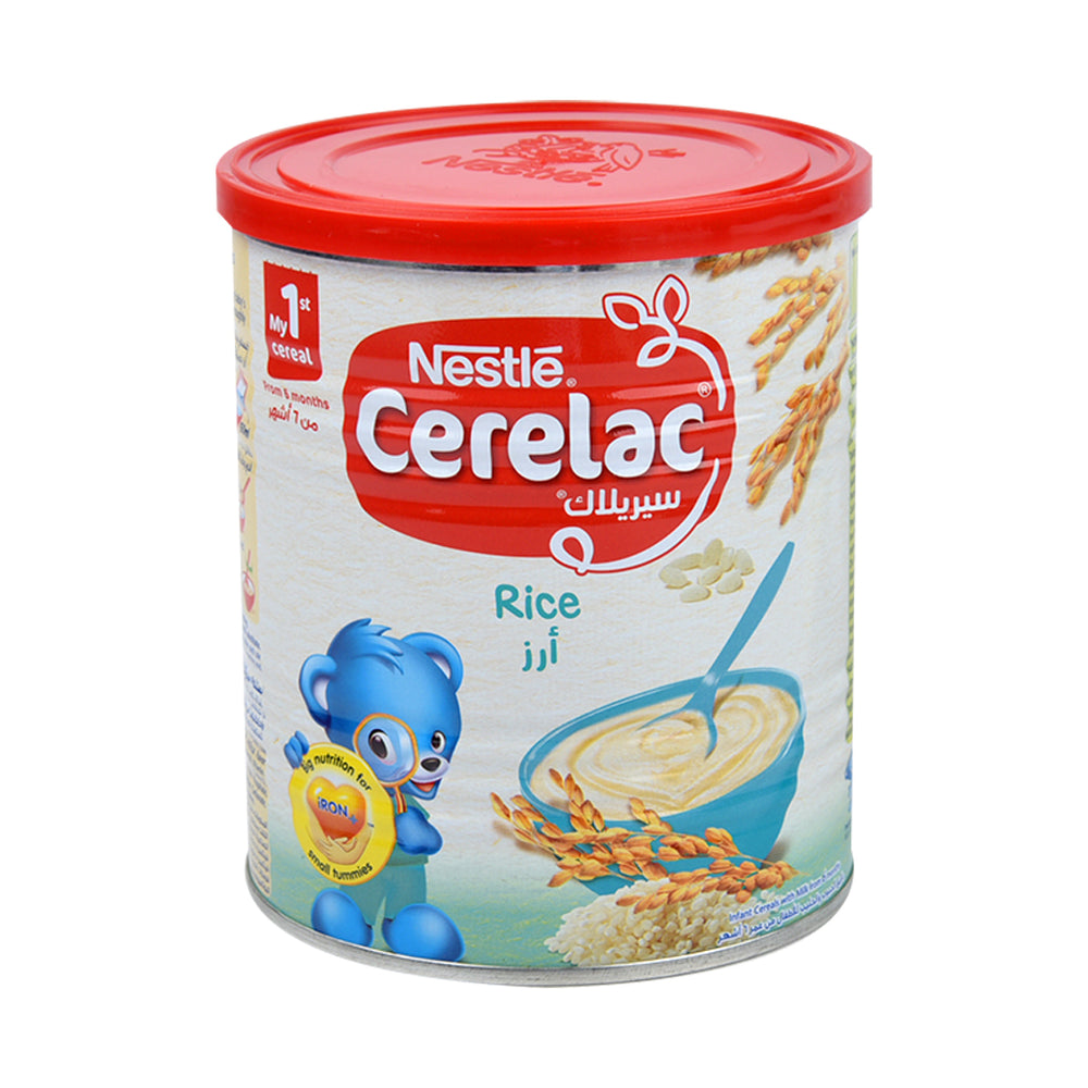 Nestle Cerelac Rice & Milk 400Grm