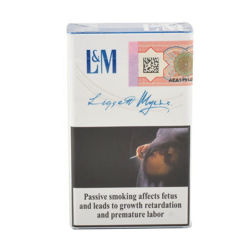 L & M Cigarette Blue King Size 20'S