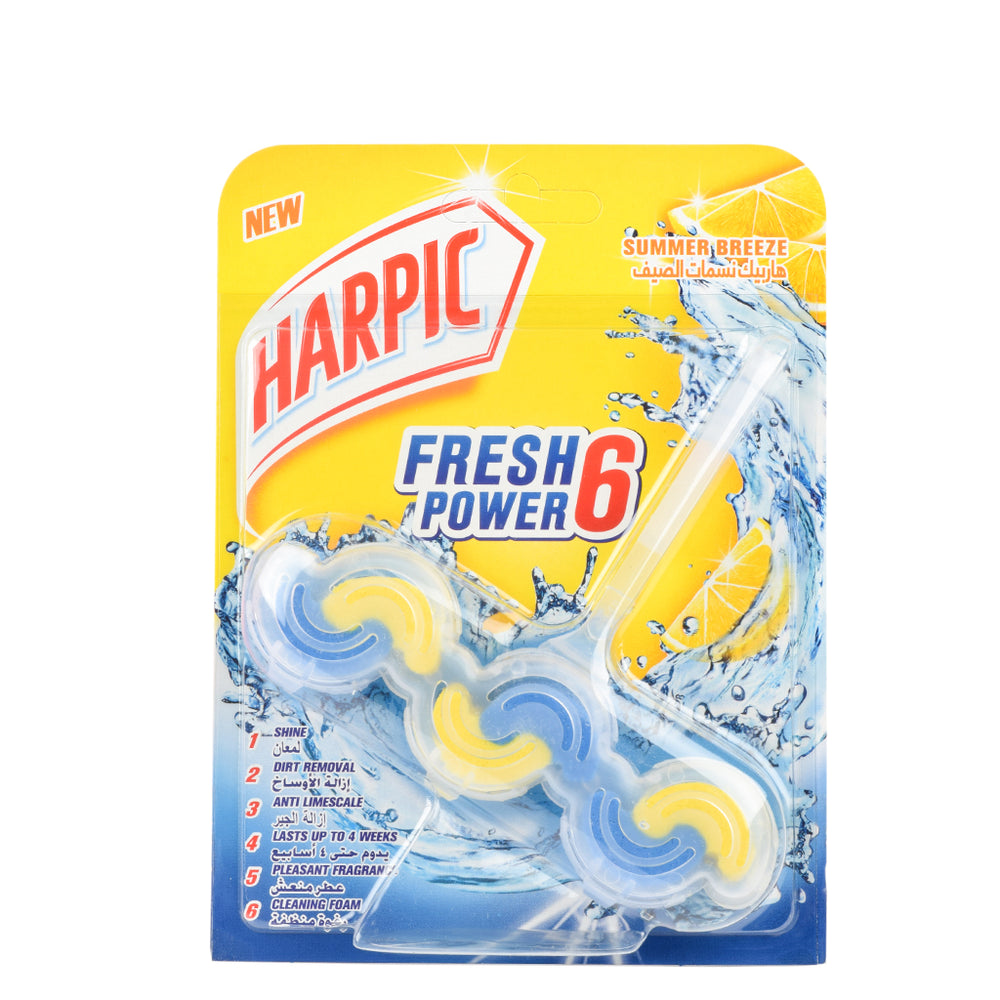 Harpic Toilet Fresh 6 Power Summer 39Gm