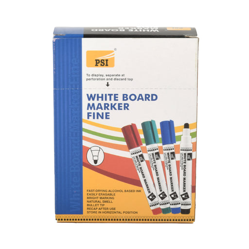 Psi White Board Marker Fine-Blue