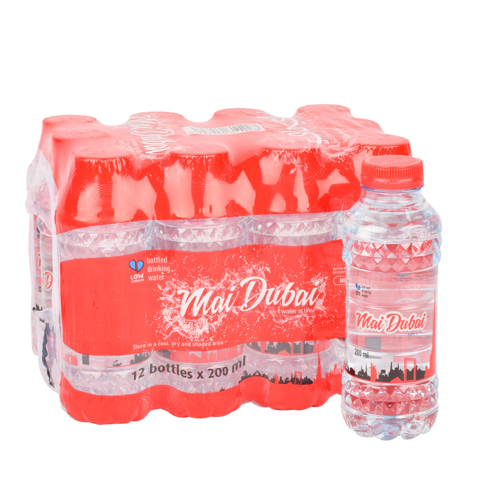 Mai Dubai Mineral Water PET Bottle 200ml