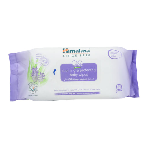 Himalaya Soothing&Protecting Baby Wipes 56'S