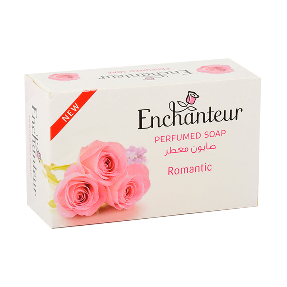 Enchanteur Perfume Soap Romantic 125Gm
