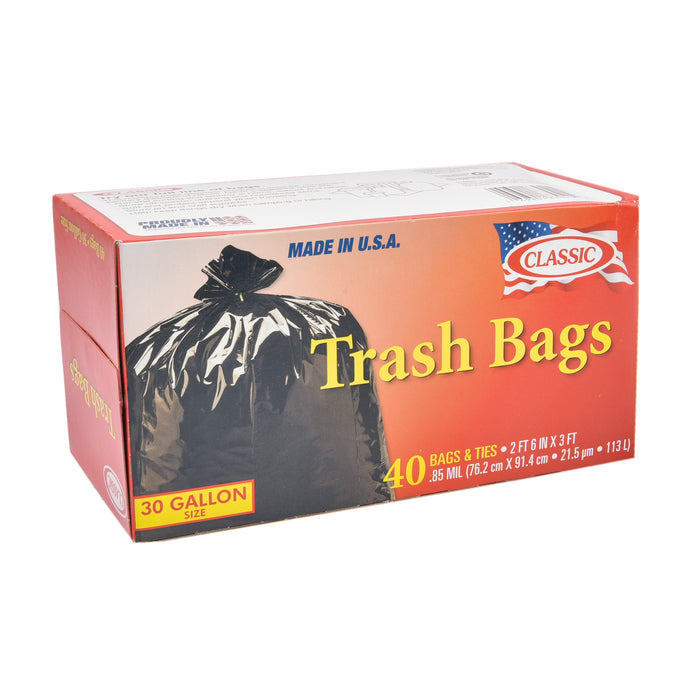 Classic Garbage Bags 40'S