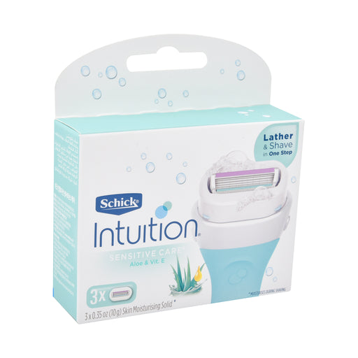 Schick Intution Plus Senstve Kit Refil 3''S