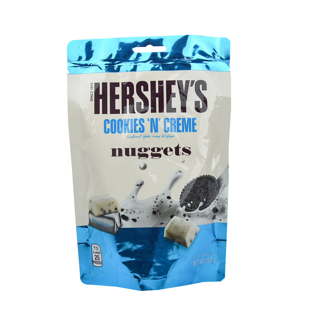 Hershey's Cookies 'N' Chocolate Nuggets 250g