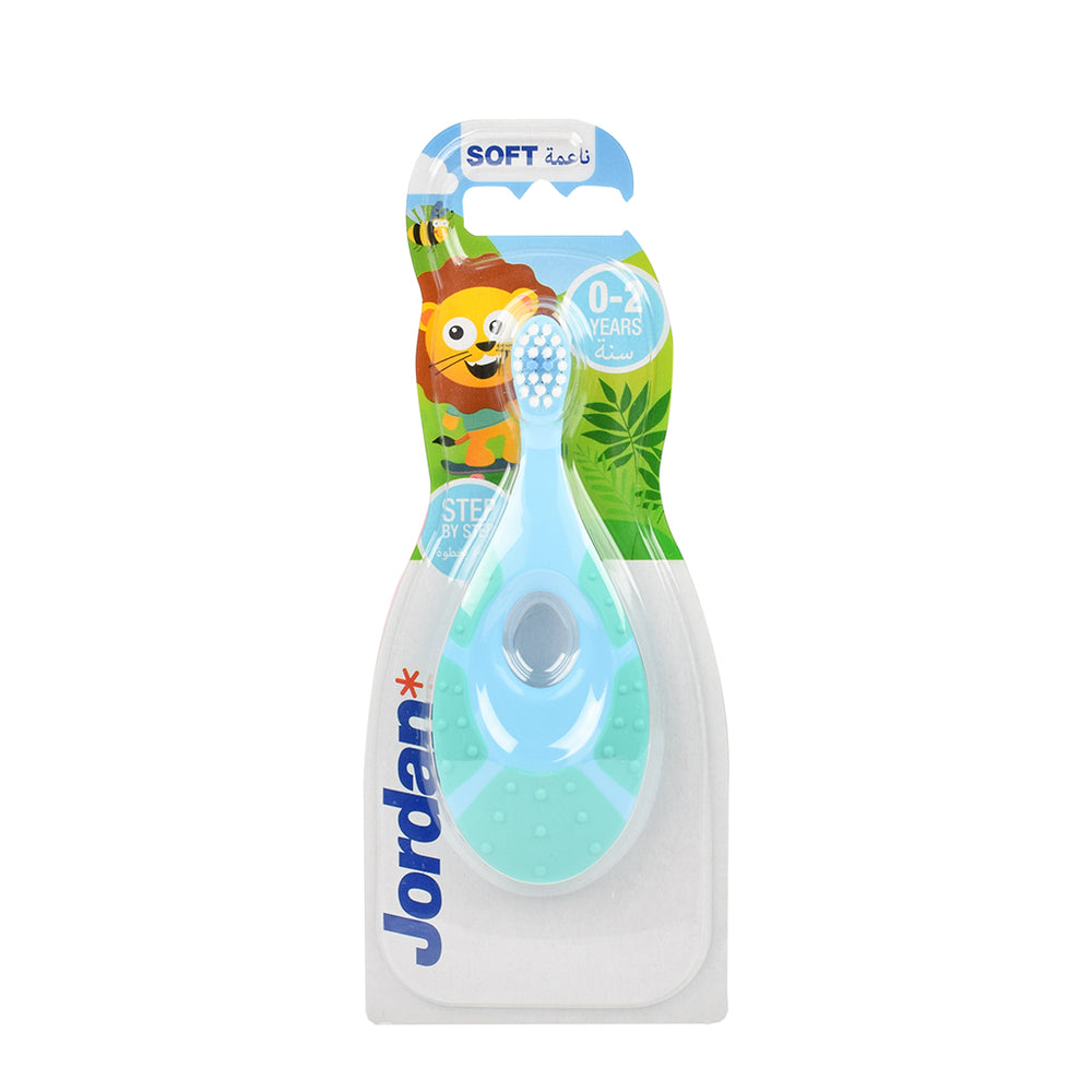 Jordan Tooth  Brush Soft 0-2 Step By Step 1X1