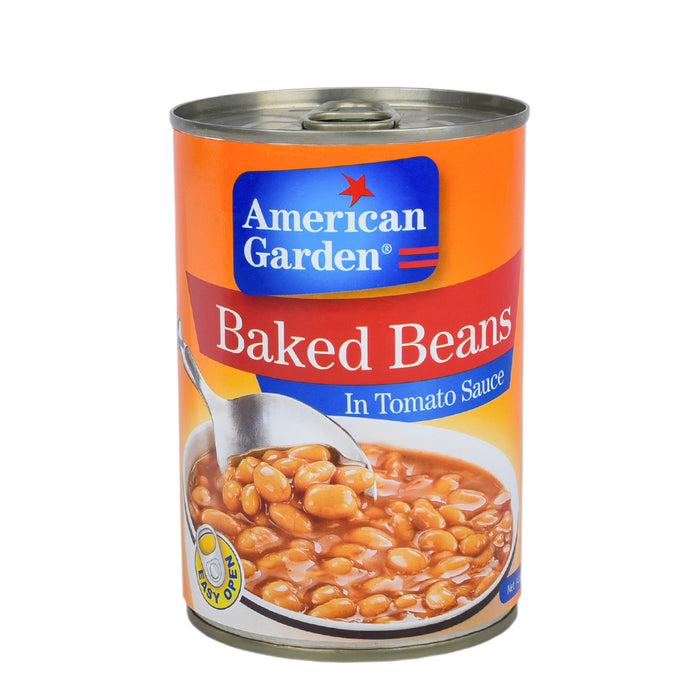 American Garden Baked Beans In Tomato Sauce 400grm