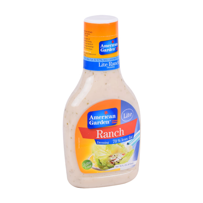 American Garden Ranch Dressing Lite 70%Less Fat 473ml