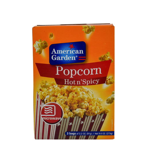 A/GARDEN Pop Corn Hot&Spicy Microwave 273Gm