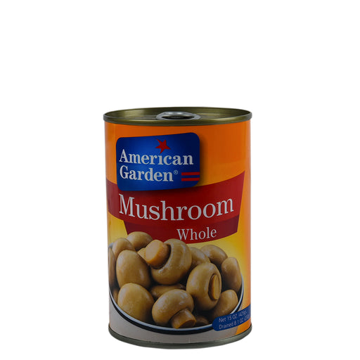 American Garden Mushrooms Whole 425gm