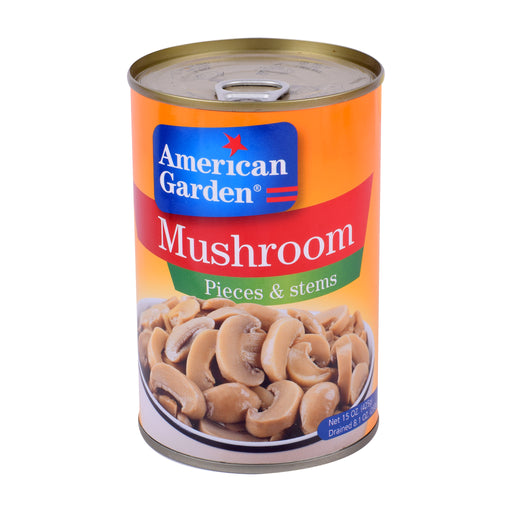 American Garden Mushrooms Pieces & Stems 425gm
