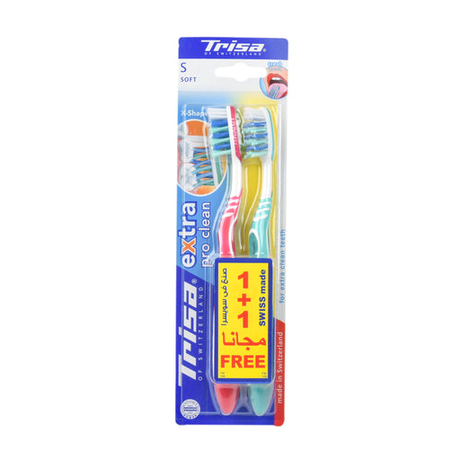 Trisa Tooth Brush Extra Pro Clean Soft