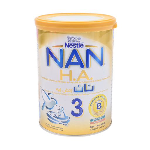 Nestle Nan Stage 3 Growing Up Milk Hypo Allengenic 400Grm