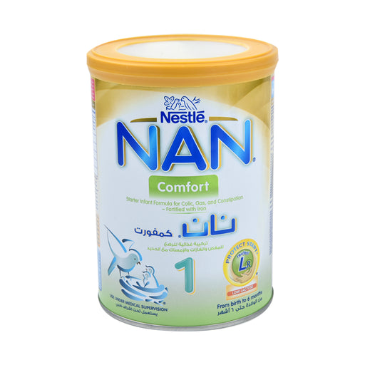 Nestle Nan Stage 1 Infant Formula Milk Comfort 400Grm